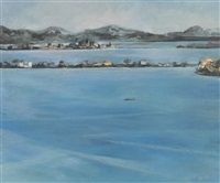 orbetello isthmus by michael ayrton