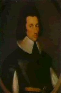 portrait of a gentleman, possibly sir richard weston (1591- 1613) by cornelius de neve