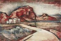 view of monte pellegrino by joseph floch
