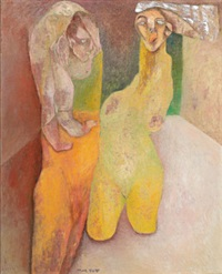 homme et femme nus by alixe fu