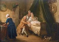 la visite du médecin au malade alité by philippe lambert joseph spruyt