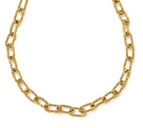 necklace cadene design by jean mahie