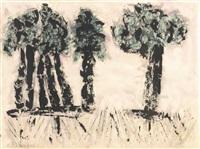 trees by milton avery
