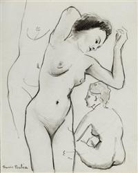 trois études de nues by francis picabia