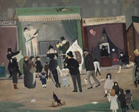 a day at the fair by ger (gerardus petrus) langeweg