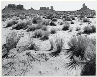 monument valley, arizona by ansel adams