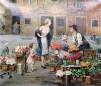 le marchand de fleurs by cesare vianello