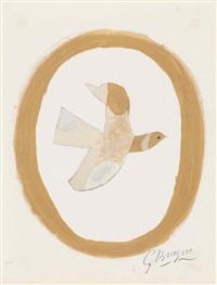 l'oiseau des sables by georges braque