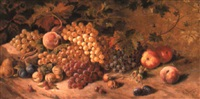 fruit on a mossy bank by carl massmann