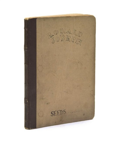 personal manuscript bk w26 works by ronald joseph