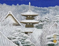 yamato covering snow by sumio goto