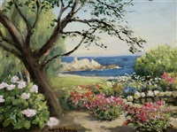 mrs. hawkin's garden - lover's point, pacific grove, ca by william adam