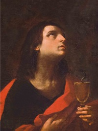 saint john the evangelist by francesco giovanni gessi