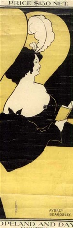 the yellow book by aubrey vincent beardsley