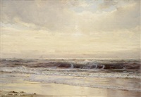 a long island beach by william trost richards