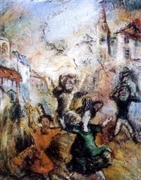 fête populaire by gigorii (grégoire) apostoli