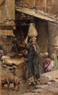 porteuse d'eau by baron rodolphe d' erlanger
