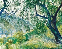 landscape by georges manzana-pissarro