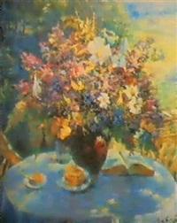 les fleurs d'ete by vassili brataniuk