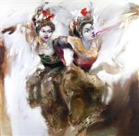 dua penari by dadung ma