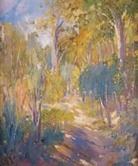 camino entre los árboles by alexandre de cabanyes