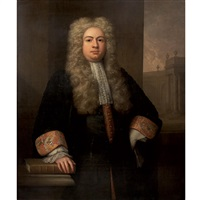 portrait of lord chief justice robert raymond by john van der vaart