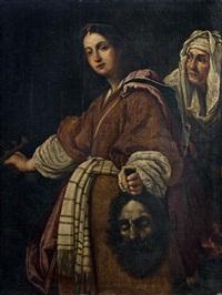 judith tenant la tête d'holopherne by cristofano allori