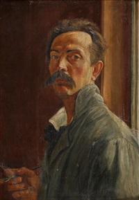 autoportret by vlastimil hofmann