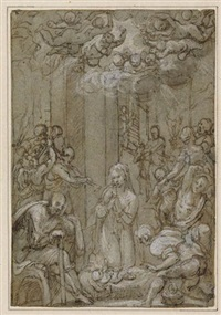 the nativity by giovanni dei vecchi