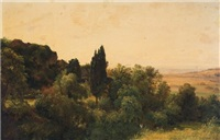 woods and distant fields by carl morgenstern