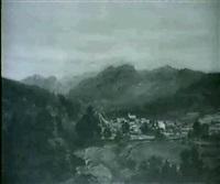 keene valley, adirondacks by joseph vollmering