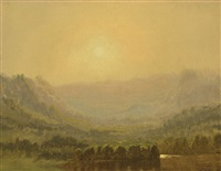 mountain sketch by sanford robinson gifford