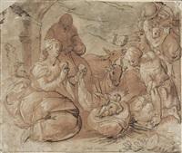 l'adoration des bergers by pieter lastman