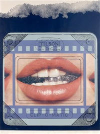 clip-o-matic c lips by joe tilson
