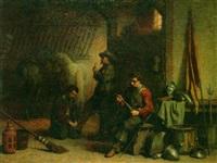avant le départ by lambertus lingeman