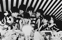 models backstage, film qui-etes-vous polly maggoo? by william klein