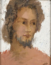 cabeza de hombre by francisco arias alvarez