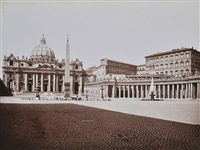 rome, st. peter's church by james anderson