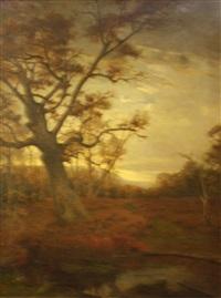 le grand chêne by paul louis martin des amoignes