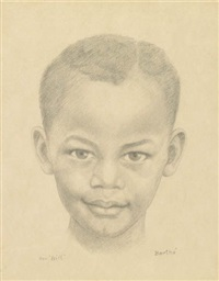 untitled (portrait of a young boy) by richmond barthe