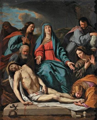 la déposition du corps du christ by philippe de champaigne