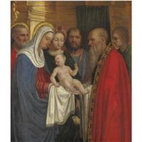 presentazione al tempio by giovanni agostino da lodi