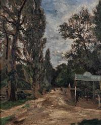 forêt à chaville by marcel françois leprin