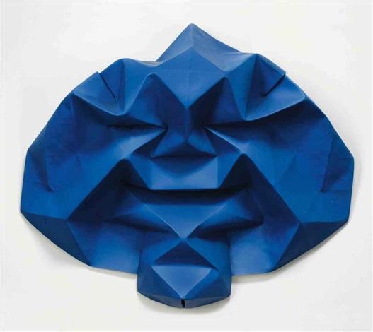 blue mask by matthew monahan