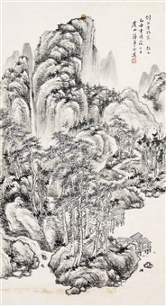 山水 by jiang menggu