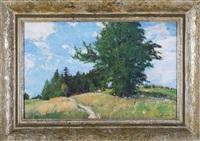 na kopci pod kyvňačkami (hážovice) by augustin mervart