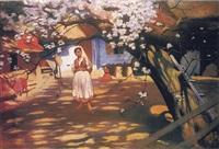 kwitnąca jabłoń by wlodzimierz tetmayer