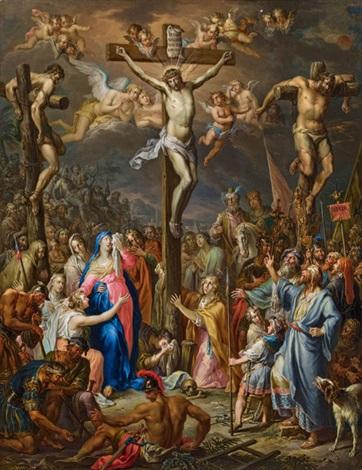kreuzigung christi by franz christoph janneck