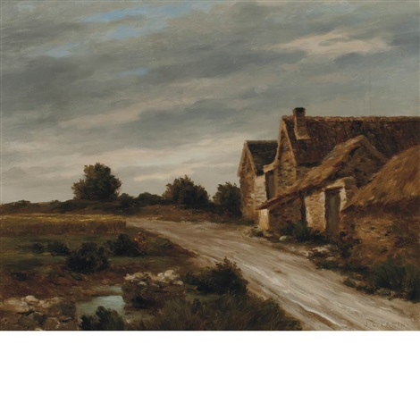 farmhouse by jean charles cazin