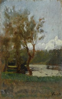 paesaggio by vincenzo cabianca